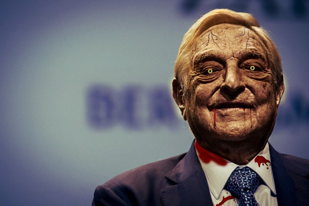 Lord Soros--A zombie architect.