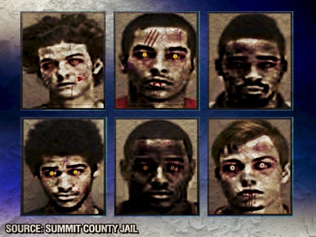 Zombie Arrestees
